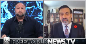Read more about the article Alex Jones Interviews Riccardo Bosi On InforWars